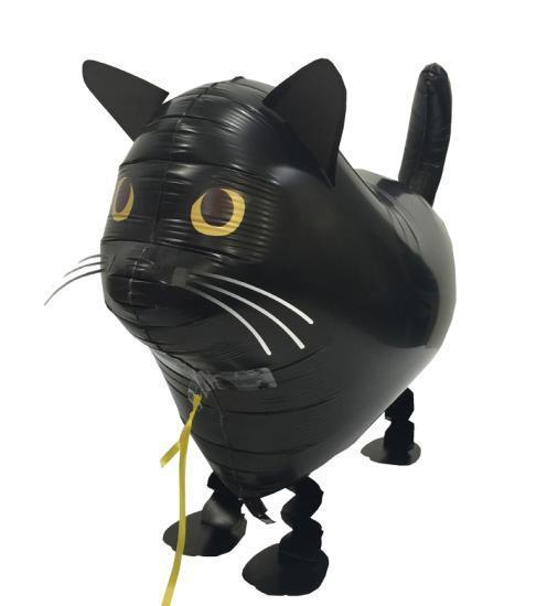 Walking Balloon Katze schwarz - 60301