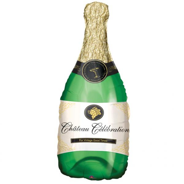 SuperShape Folienballon Champagnerflasche - 57562