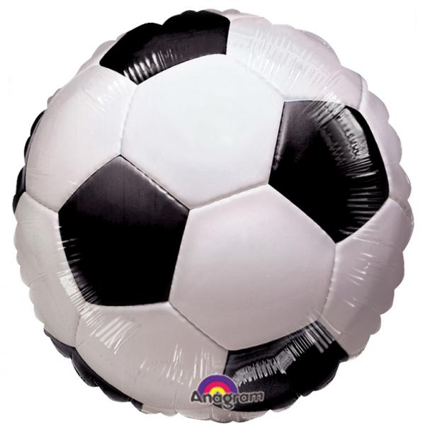 Folienballon Fussball