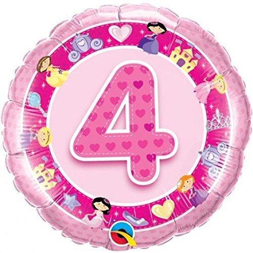 Folienballon 4 Pink Princess