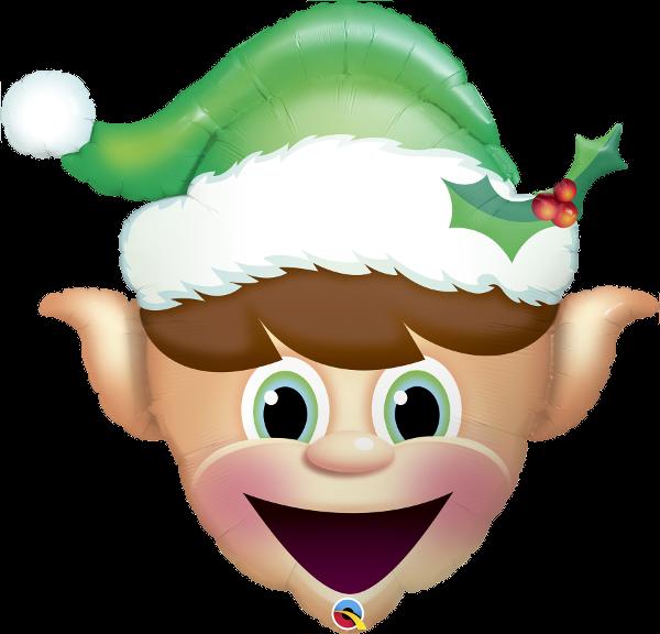 Folienballon Christmas Elf