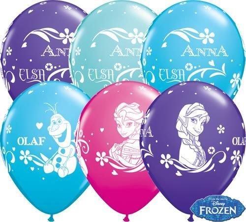 Latexballon Anna, Elsa und Olaf Assortment - 1 Stück