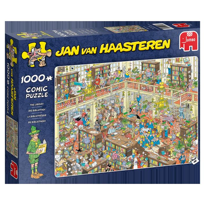 Jan van Haasteren Die Bibliothek