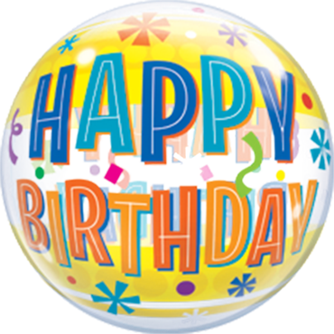Bubble Birthday Fun und Yellow Bands - 65649