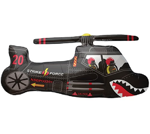 Folienfigur Hubschrauber - 58201