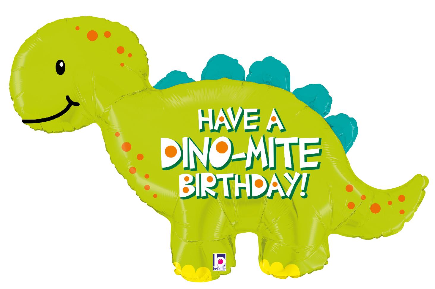 Folienballon Dino-Mite Birthday