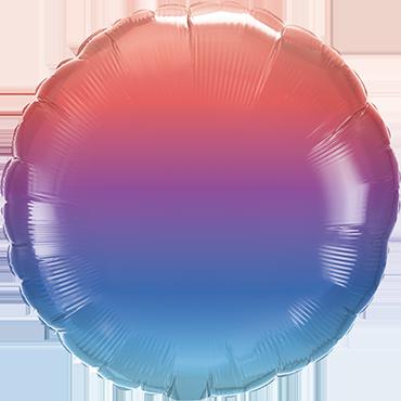 Folienballon Winter Ombre
