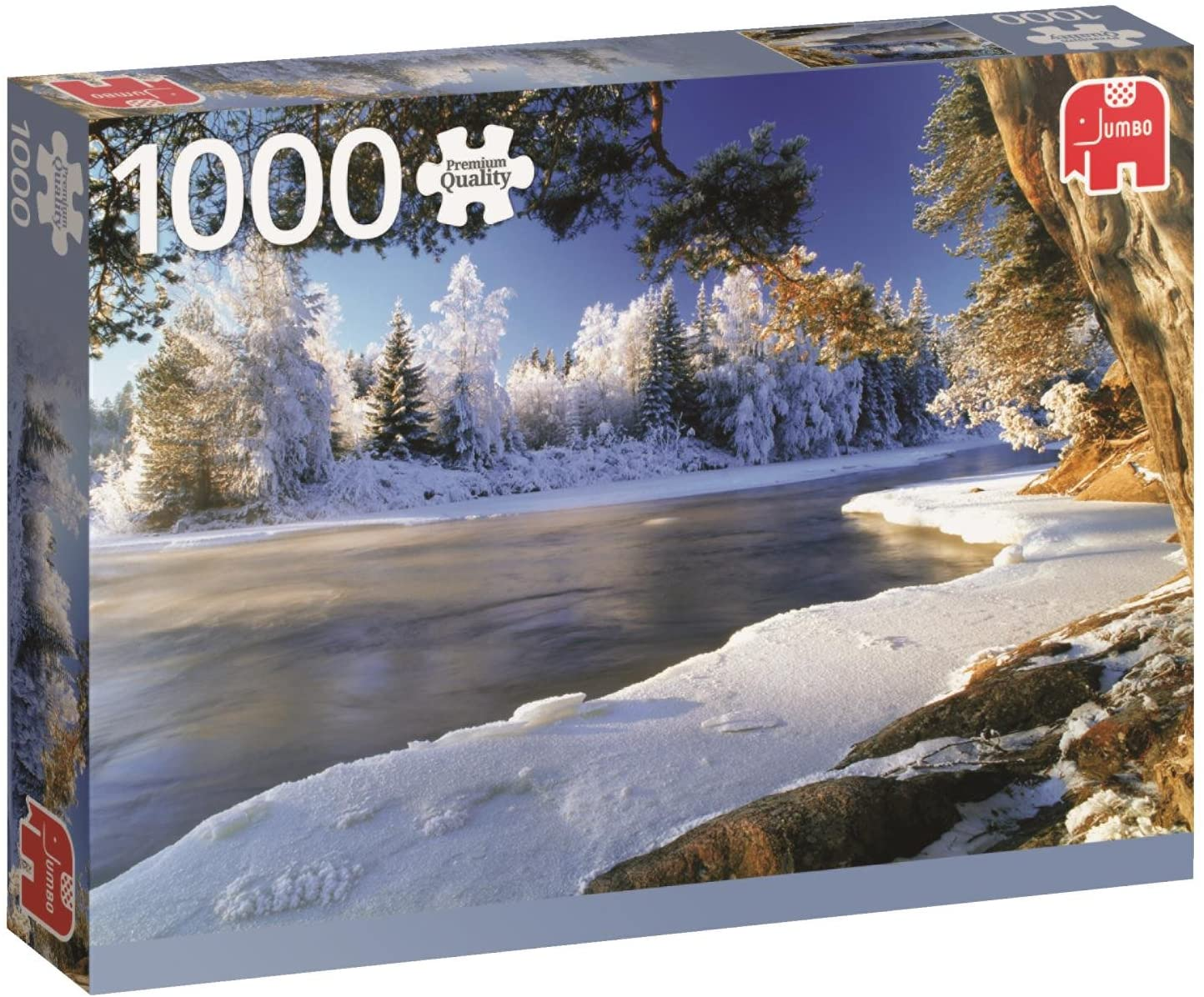 Landschafts-Puzzle: Schweden - Der Fluss Dal