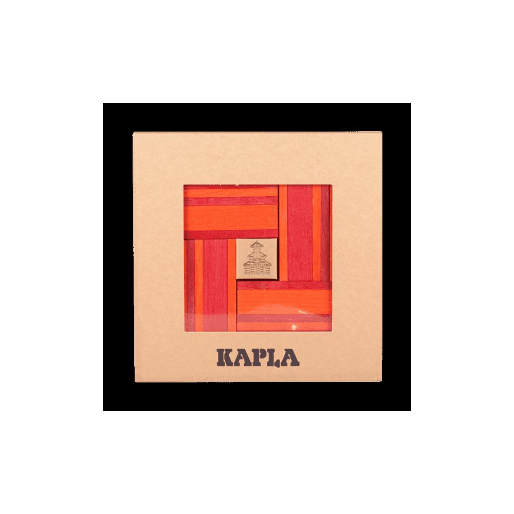40er Kapla Nr. 22 rot/orange inkl. Buch