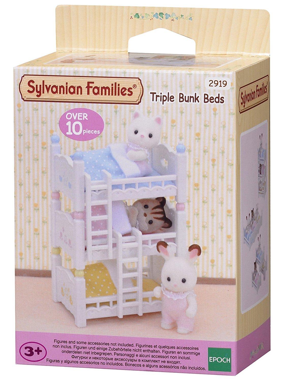 Dreistöckiges Baby-Hochbett