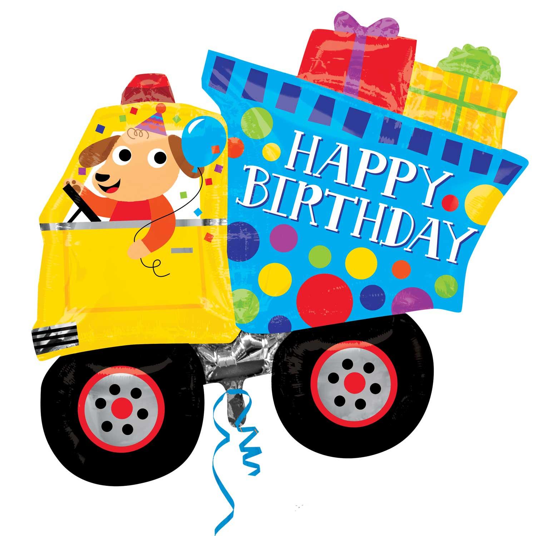 Folienballon Happy Birthday Hund - 58900
