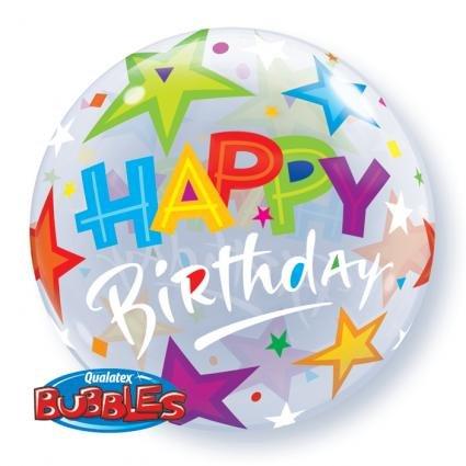 Bubble Birthday Brilliant Stars - 55127