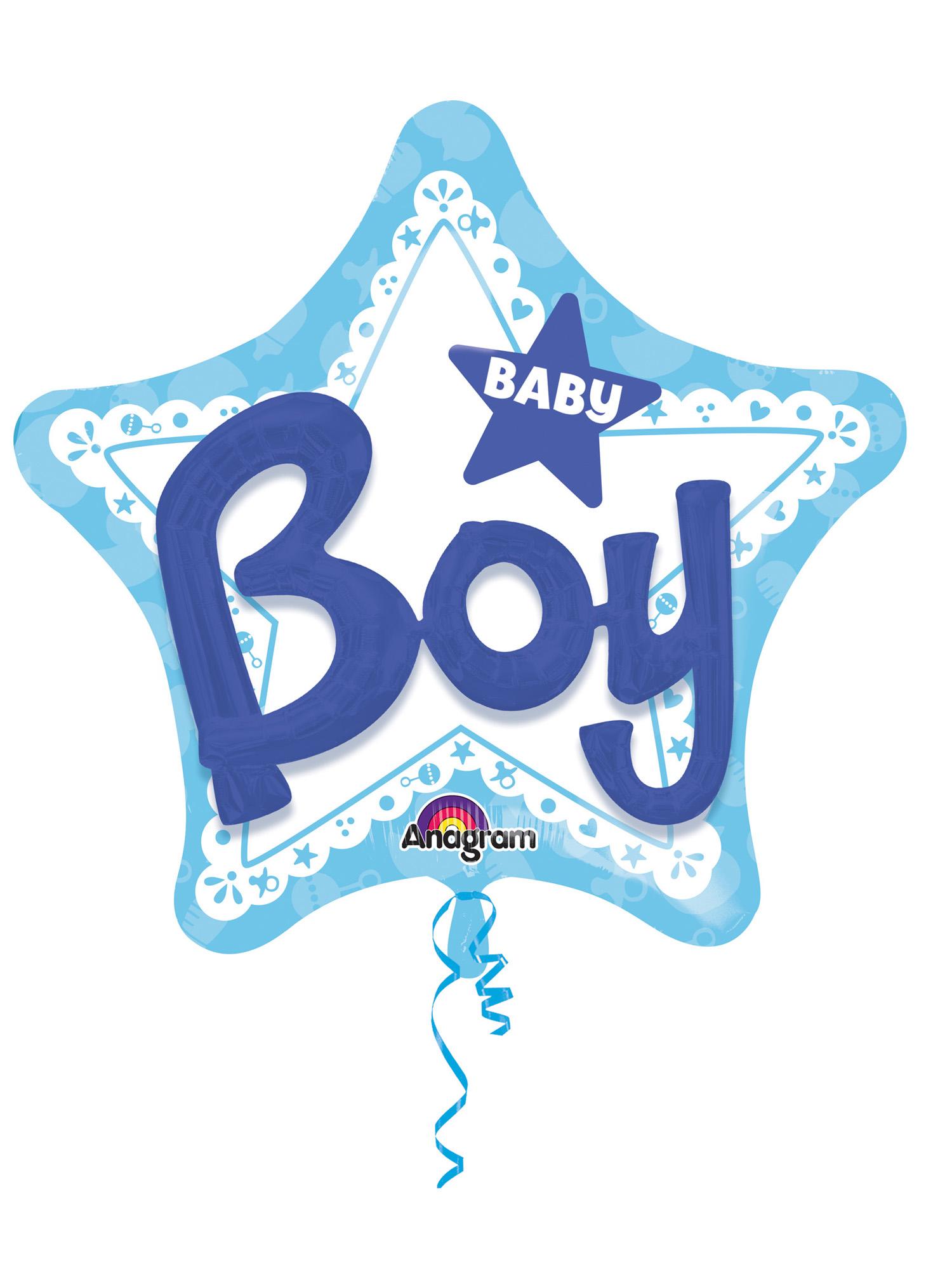 Folienballon Multi-Balloon Baby Boy
