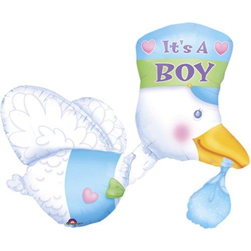 Multi-Ballon Storch Its a Boy - 58504