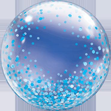 Decobubble Blue Confetti Dots - 61354