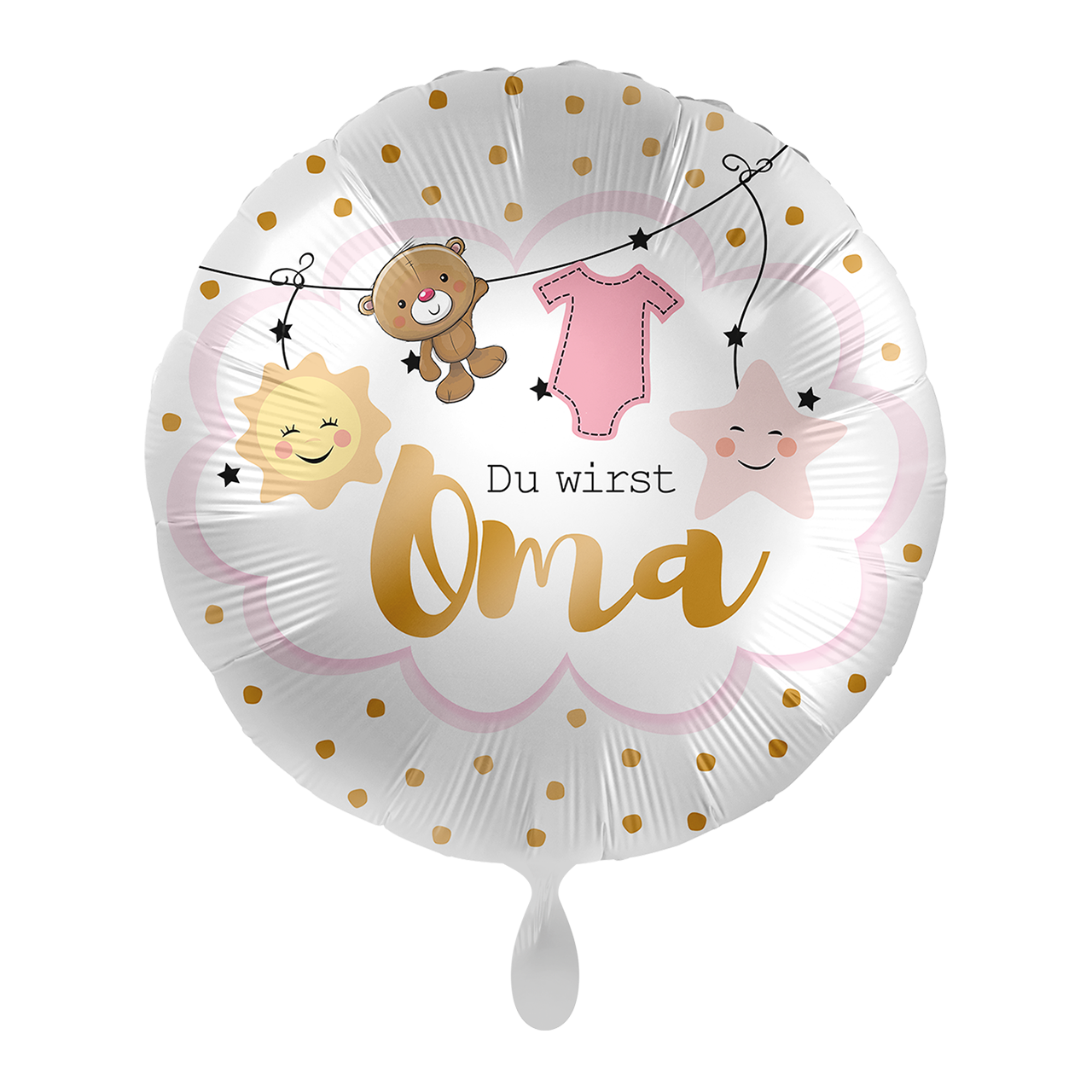 Folienballon Du wirst Oma