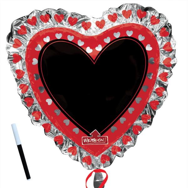 SuperShape Herz mit Tafel - 58150