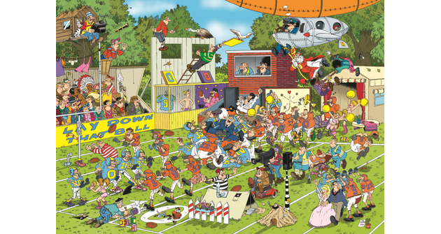 Jan van Haasteren - Chaos on the Field
