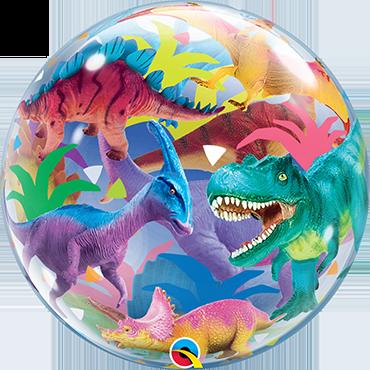 Bubble Colorful Dinosaurs - 64322