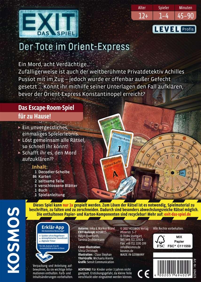 EXIT - Der Tote im Orientexpress