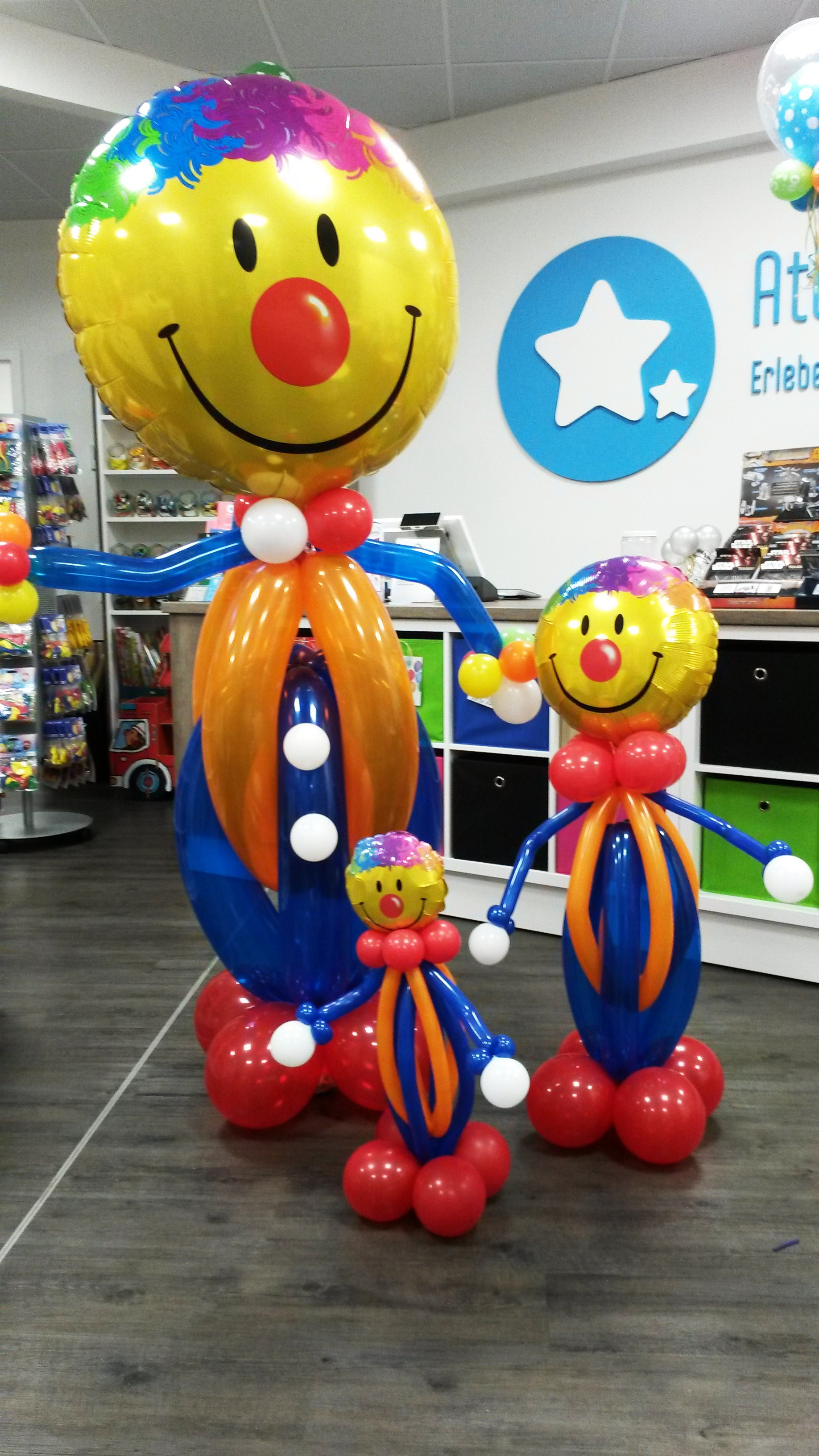 Ballon-Clowns