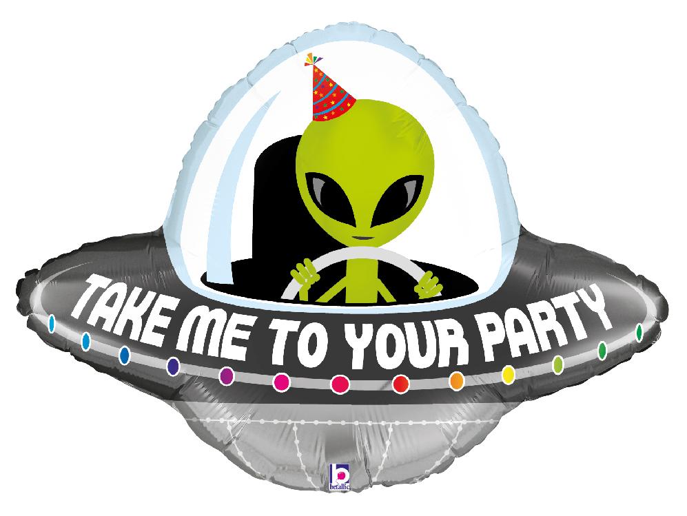 Folienballon Party Alien