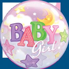 Bubble Baby Girl Moon - 60319