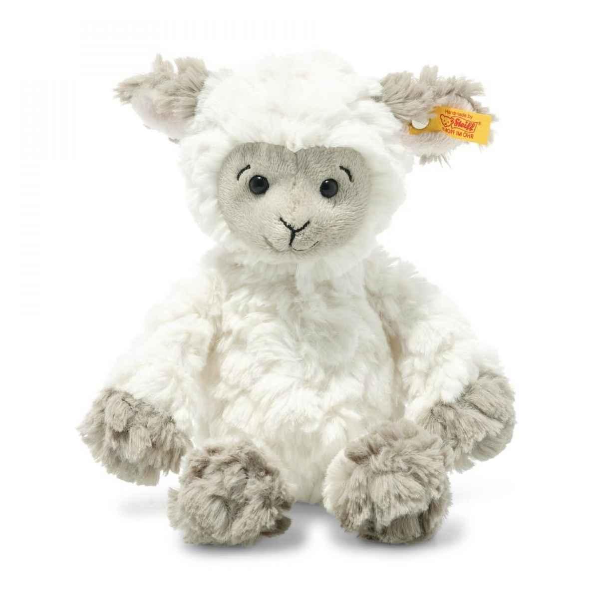 Lila Lamm20 weiß-braungrau