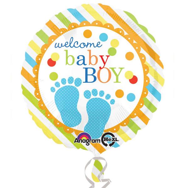 Folienballon Baby Feet Boy