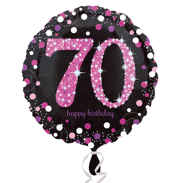 Folienballon Pink Celebration 70