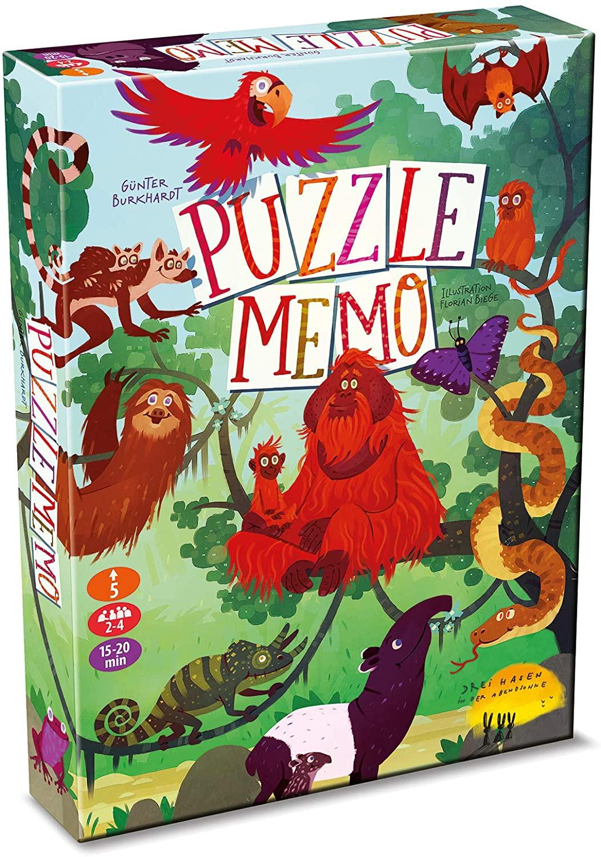 Puzzle Memo Geheimer Regenwald