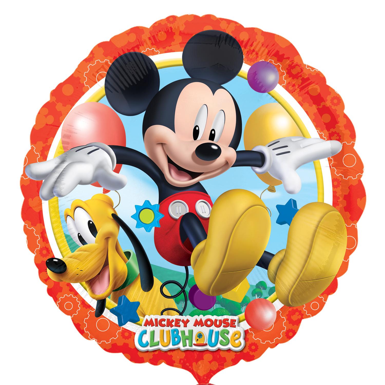 Folienballon Mickey und Pluto