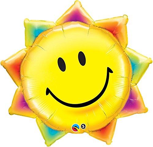 Foil Balloon Sunshine Smile  - 35inch - 1 Stück