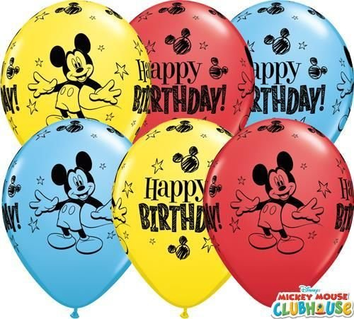 Mickey Mouse Birthday Assortment - 1 Stück