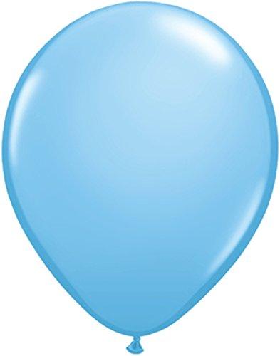Latexballon hellblau - 1 Stück - Größe 11