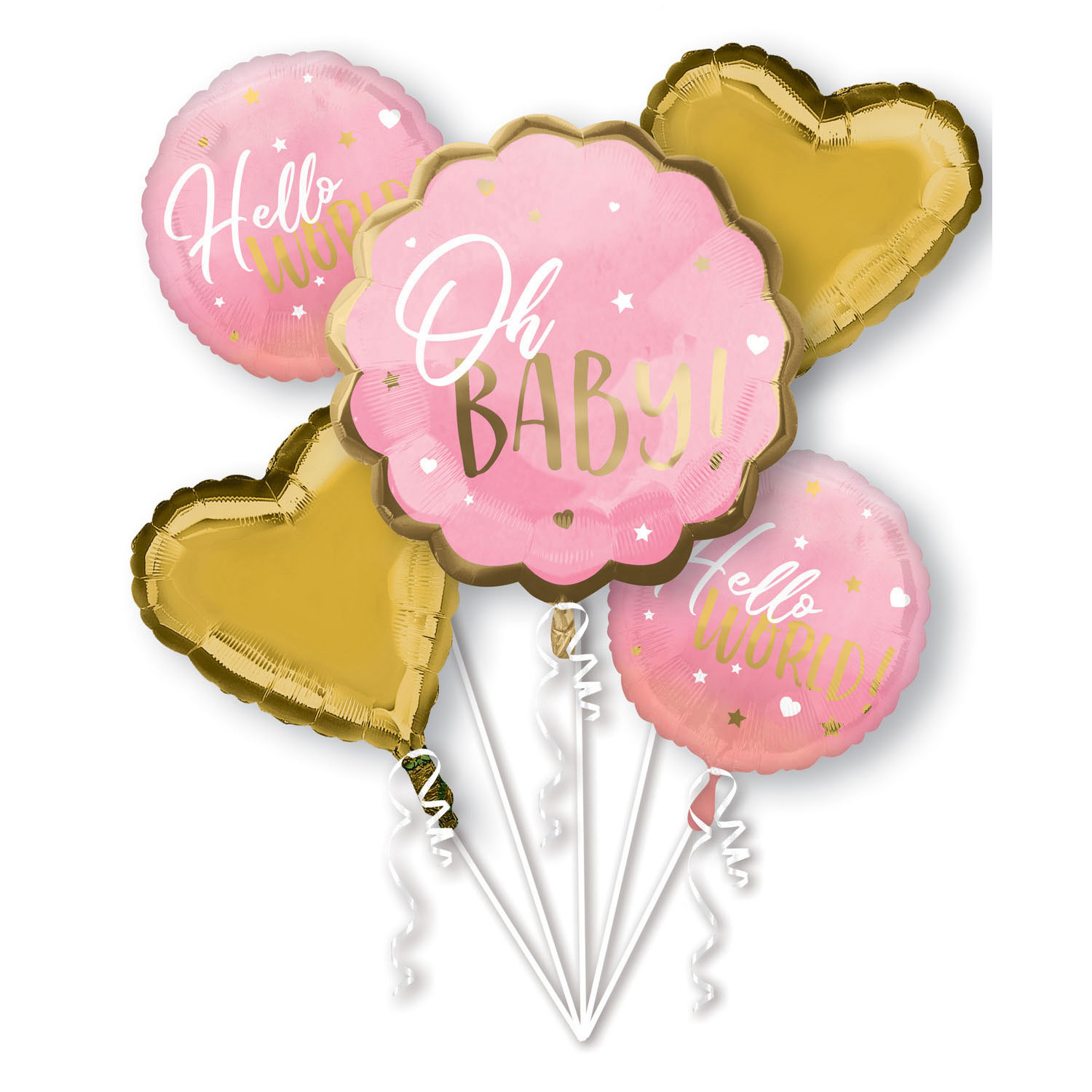 Bouquet Pink Baby Girl- 65757